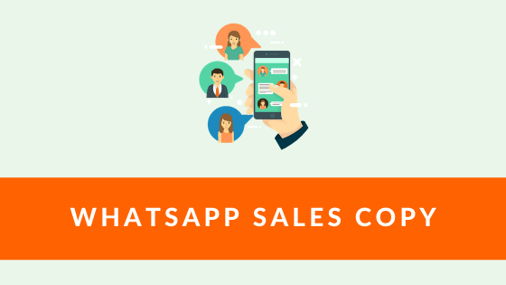 WhatsApp Sales Copy